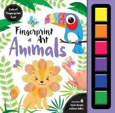 Finger Print Art Animals image