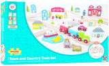 Bigjigs Town & Country Train Set