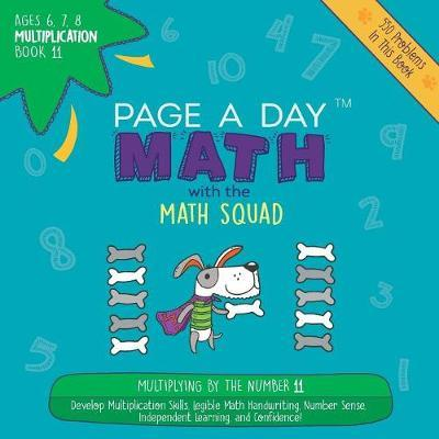 Page a Day Math Multiplication Book 11 by Janice Auerbach