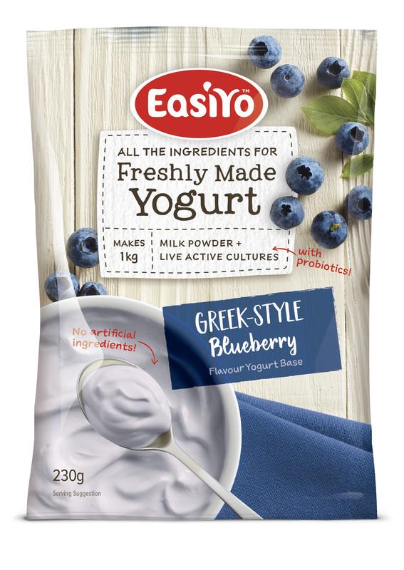 EasiYo: Greek-Style Blueberries (230g) 8-Pack