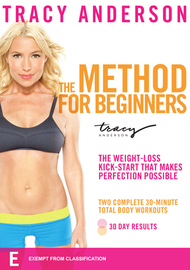 Tracy Anderson The Method For Beginners on DVD