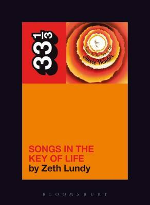 Stevie Wonder's Songs in the Key of Life by Zeth Lundy image