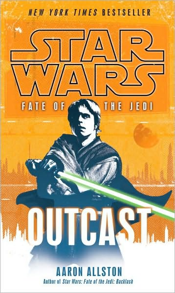 Star Wars: Fate of the Jedi: Outcast by Aaron Allston image
