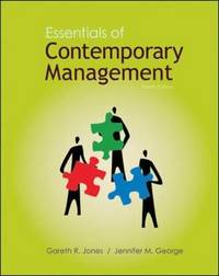 Essentials of Contemporary Management by Gareth R Jones image