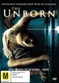 The Unborn on DVD