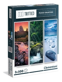 Clementoni: 500-Piece Puzzle - Triple Pack (Trittico Nature)