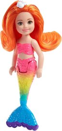 Barbie: Dreamtopia Small Mermaid Doll - Orange Hair