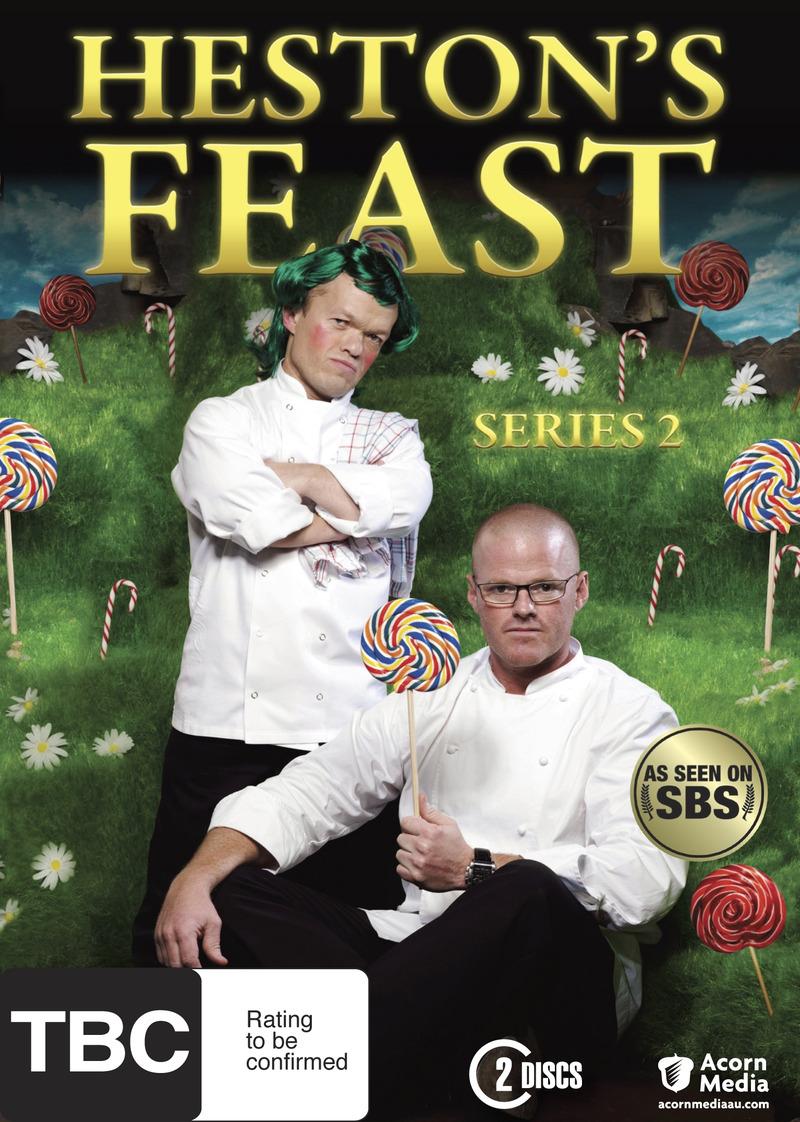 Heston's Feast - Series 2 (2 Disc Set) on DVD image