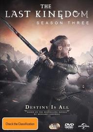 The Last Kingdom: Season 3 on DVD
