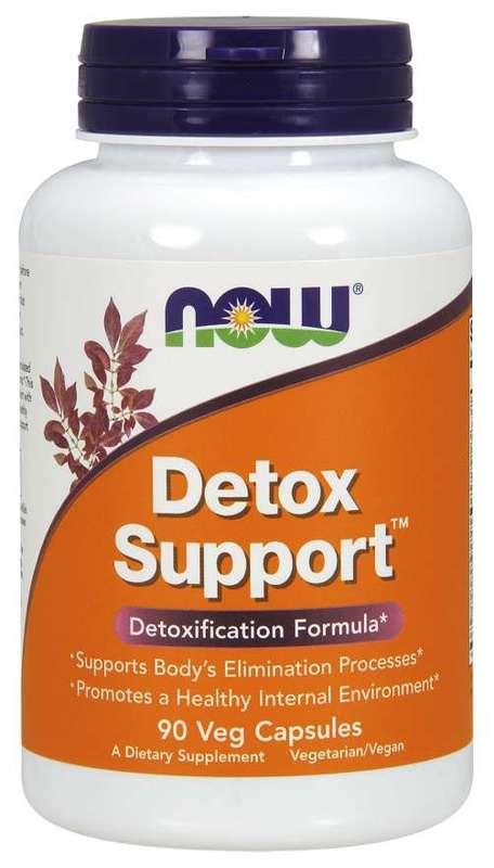 Now Foods - Detox Support (90 Vege Caps)