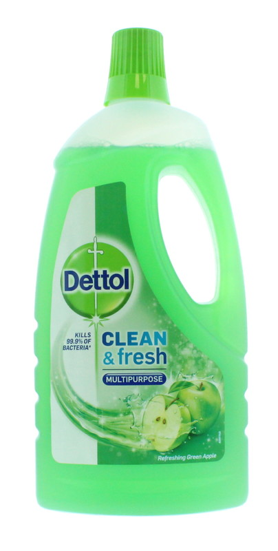 Dettol: Power & Fresh Multi Purpose Cleaner - Green Apple (1L)