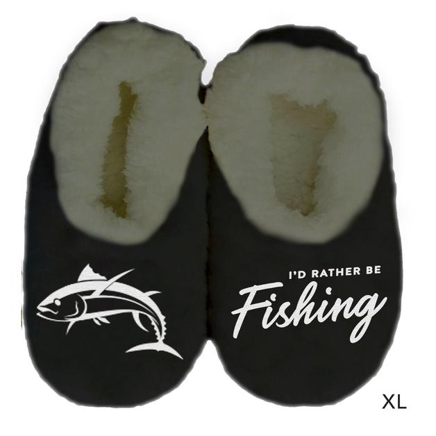 Sploshies: Men's Duo Slippers - Fishing (X-Large)
