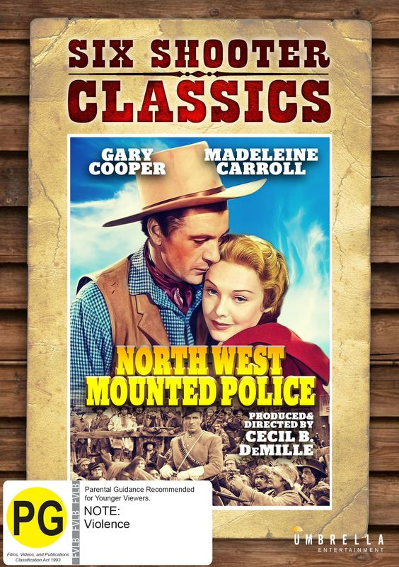 Northwest Mounted Police on DVD