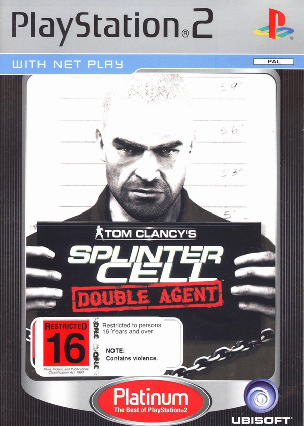 Tom Clancy's Splinter Cell: Double Agent (Platinum) for PS2 image