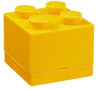 LEGO Mini Box 4 (Yellow)
