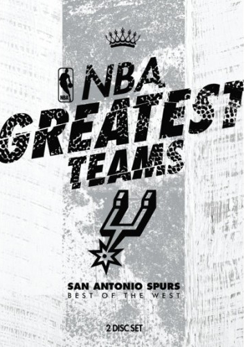 NBA Greatest Teams San Antonio Spurs: Best Of The West on DVD image