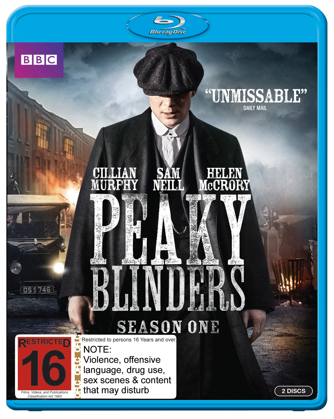 Peaky Blinders - The Complete First Season on Blu-ray image