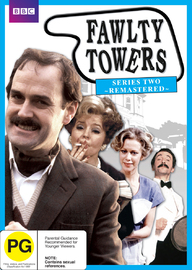 Fawlty Towers: Series 2 - Remastered on DVD