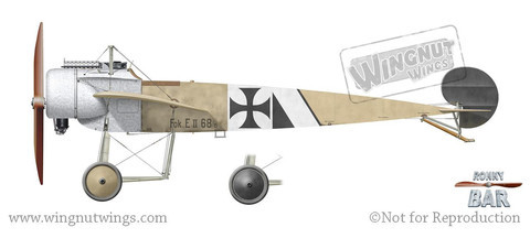Wingnut Wings 1/32 Fokker EII/EIII Early Model Kit image