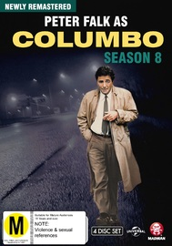 Columbo: The Complete Season 8 on DVD