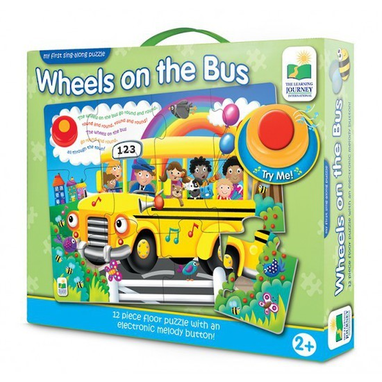 My First Sing Along Puzzle - Wheels on the Bus