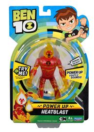 Ben 10: Power Up Deluxe Figures - Heatblast