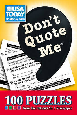 Don't Quote Me by USA Today image
