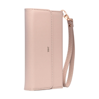 3SIXT NeoClutch Premium Case for iPhone X/XS - Blush Tan / Grey