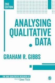 Analyzing Qualitative Data by Graham R. Gibbs