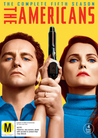 The Americans - Season 5 on DVD image
