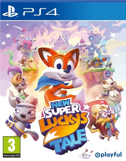 New Super Lucky's Tale for PS4