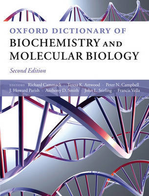 Oxford Dictionary of Biochemistry and Molecular Biology by Teresa Atwood image