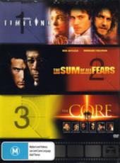 Timeline / Sum Of All Fears / The Core on DVD