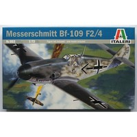 Italeri Messerschmitt BF-109 F2/4 1:72 Model Kit