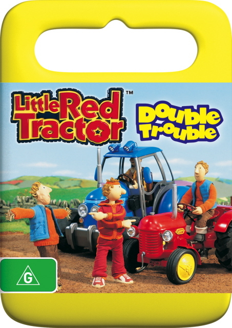 Little Red Tractor- Double Trouble on DVD