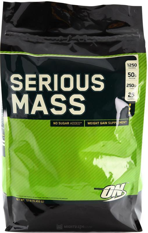 Optimum Nutrition Serious Mass - Chocolate (5.44kg)