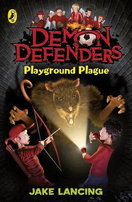 Demon Defenders: Playground Plague by Jake Lancing image