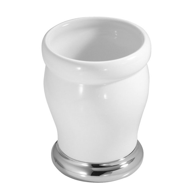 Interdesign Lora Ceramic Tumbler - White