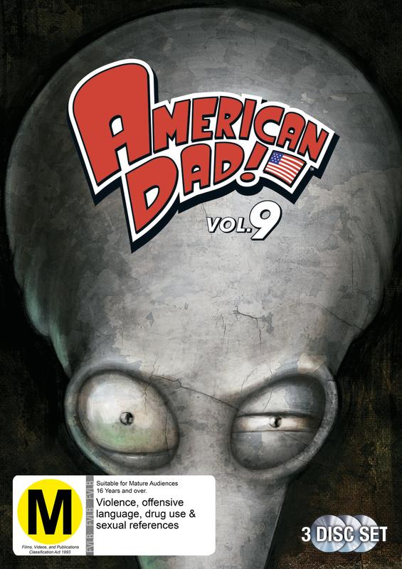 American Dad - Season 9 on DVD