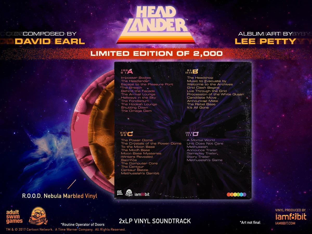 Headlander Soundtrack (2LP) by David Earl image