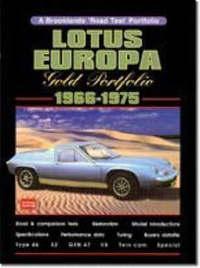 Lotus Europa Gold Portfolio, 1966-75 image