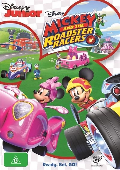 Mickey and the Roadster Racers: Vol 1 on DVD image
