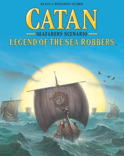 Catan: Legend of the Sea Robbers - Expansion image