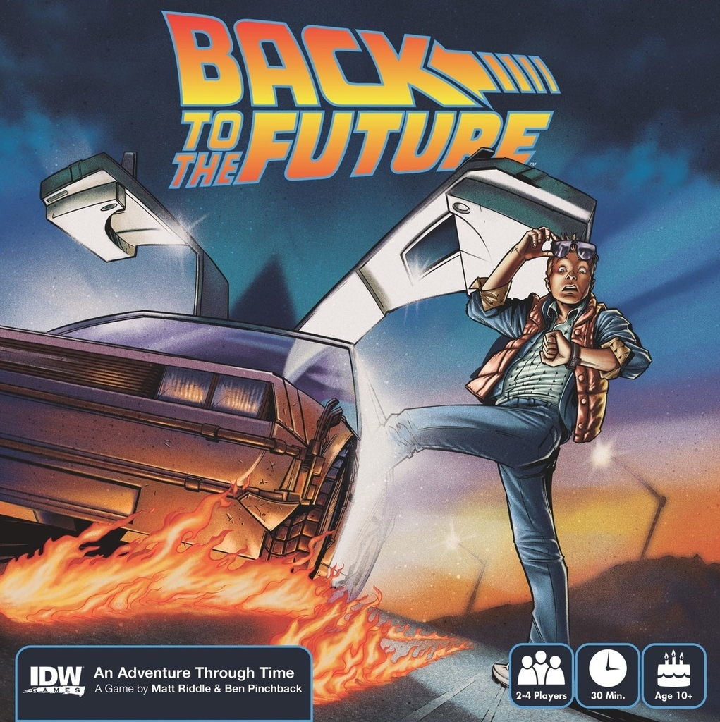 Back to the Future: An Adventure Through Time - Board Game image