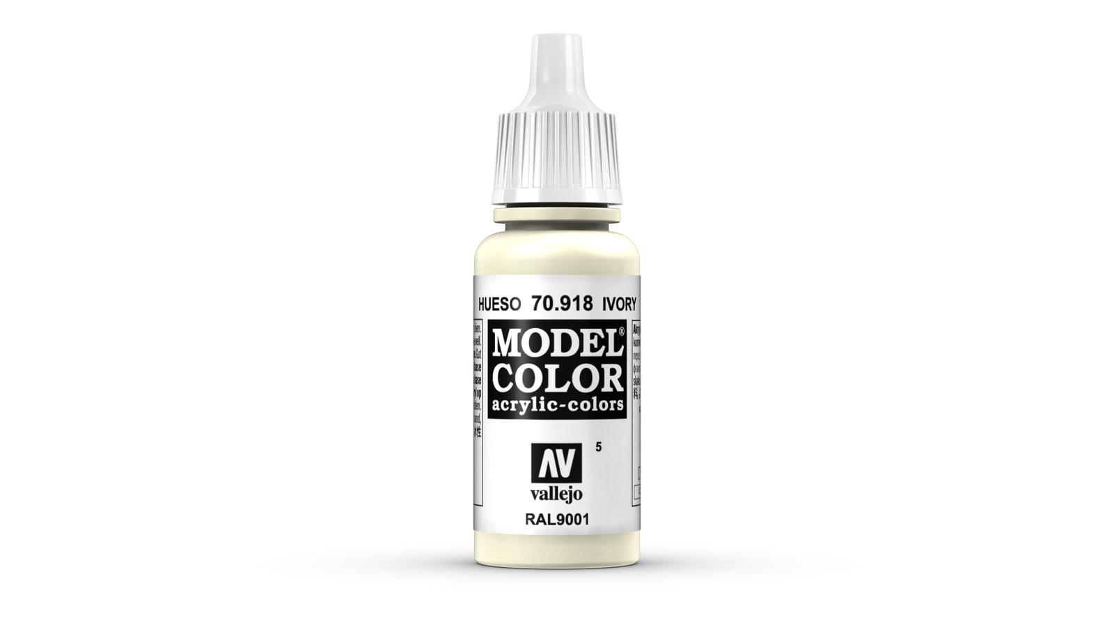 Vallejo Model Colour Ivory 17ml image