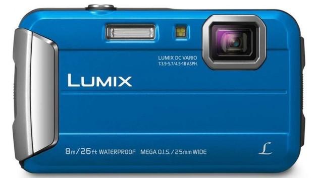 Panasonic DMC-FT30GN-A Blue Tough Camera