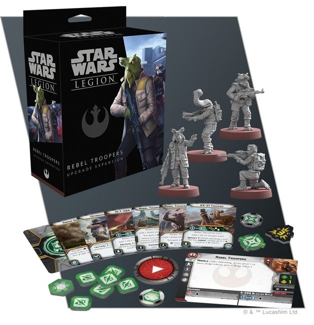Star Wars Legion: Rebel Troopers Upgrade Expansion