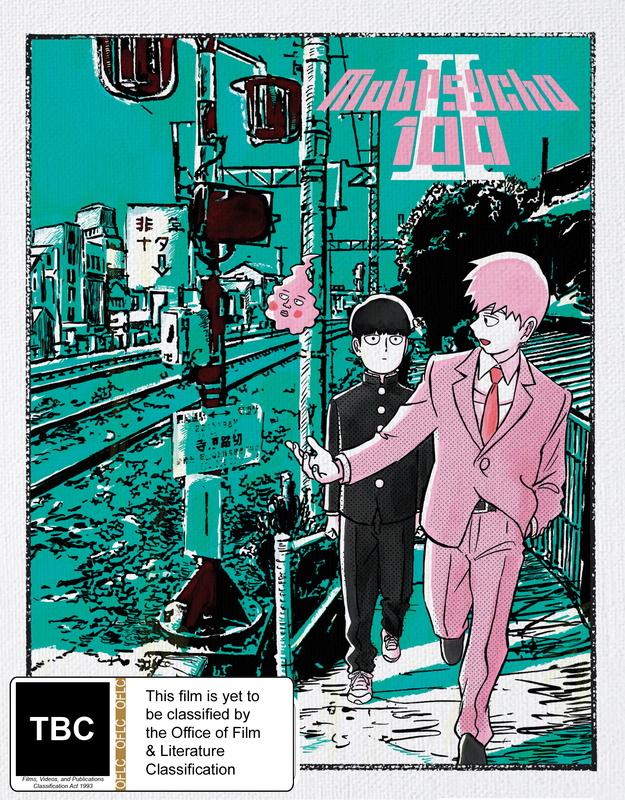 Mob Psycho 100 II Complete Season 2 (DVD / Blu-ray Combo) (limited Edition) on DVD, Blu-ray