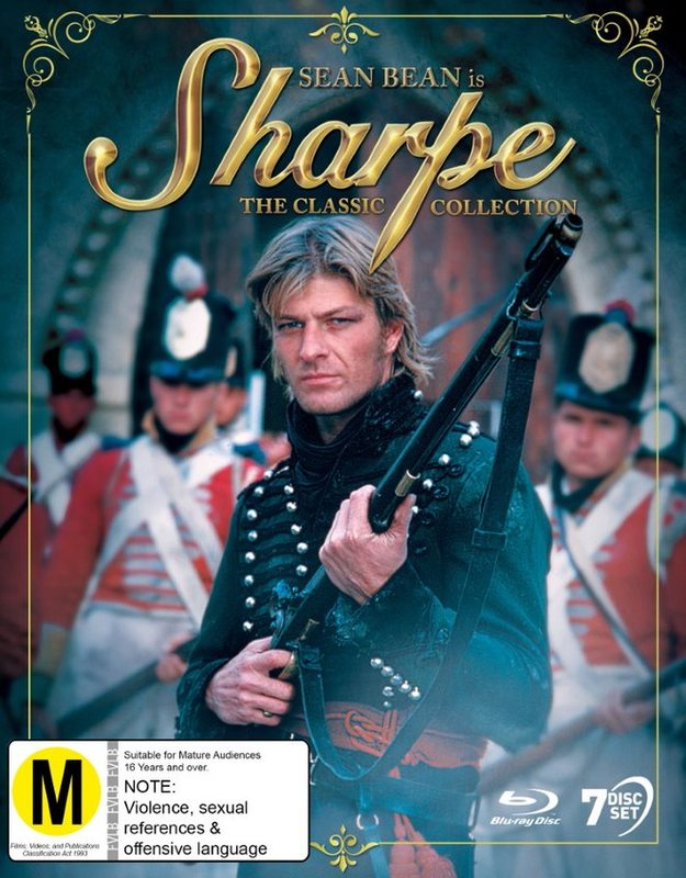 Sharpe: The Classic Collection on Blu-ray