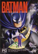 Batman - The Animated Series: The Legend Begins on DVD